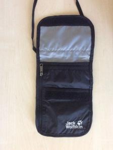 Geldbeutel Interrail Backpacking