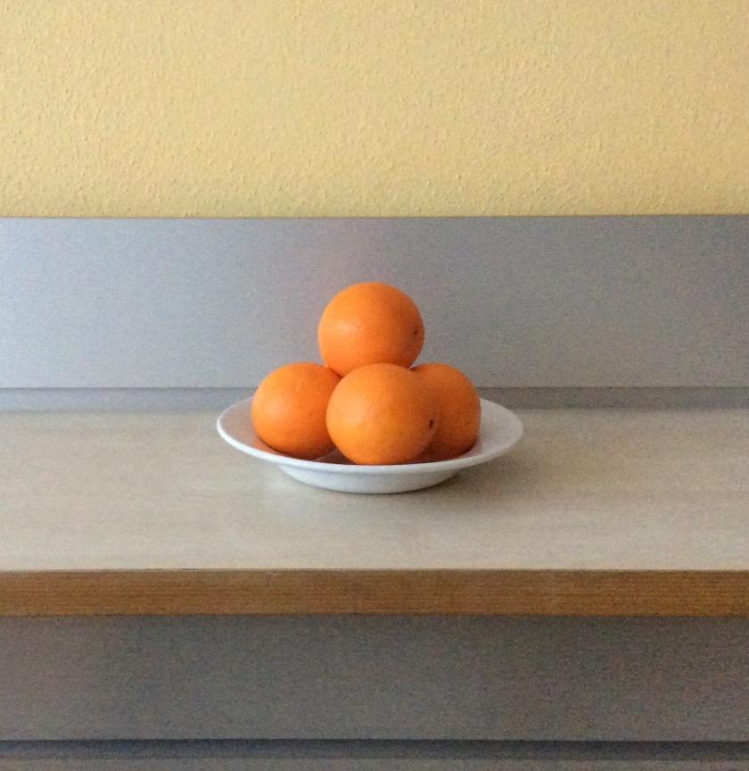 DIY-Orangenschalen