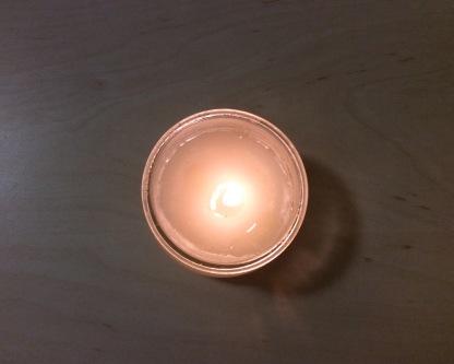 Kerze giessen