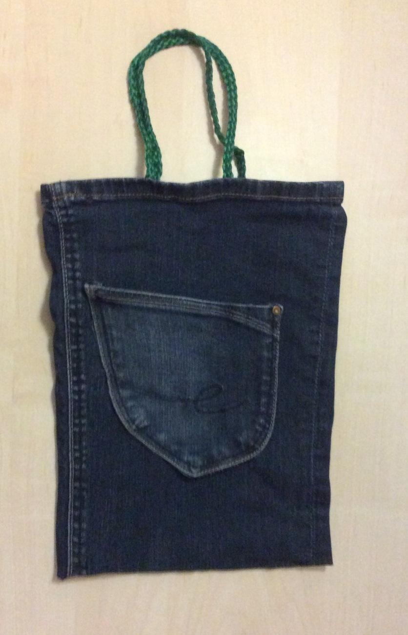 Jeans Einkauftasche