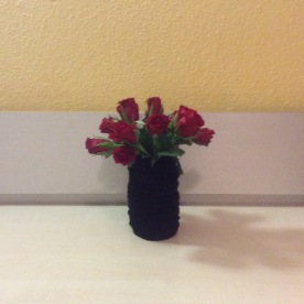 DIY Alte Socke Vase