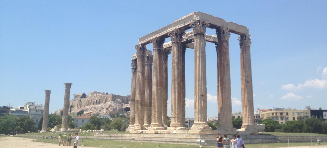 Reiseführer Olympieion Athen