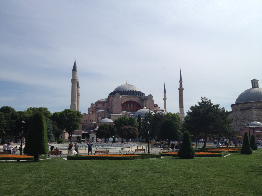 Hagia Sophia Istanbul Reise