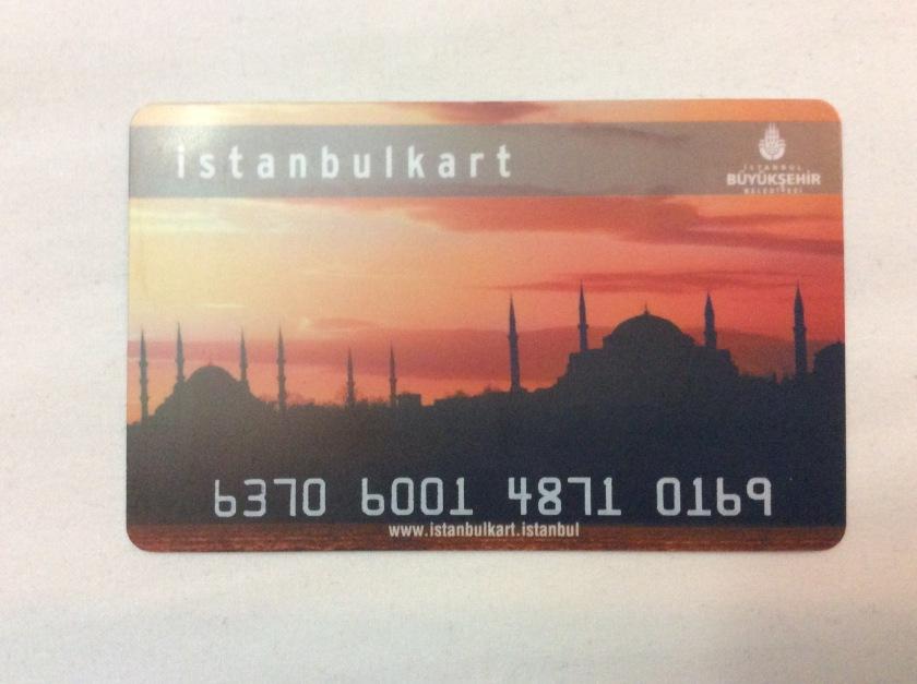 Istanbulkarte Metro