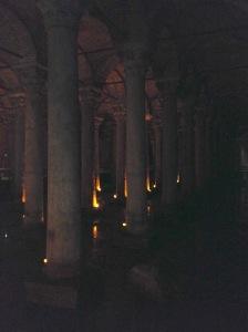 Versunkener Palast in Istanbul