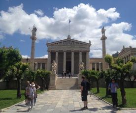 Reise nach Athen: Akademie