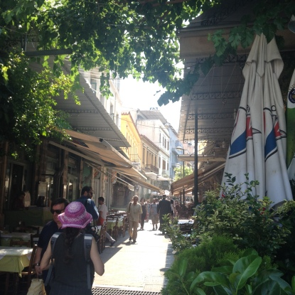 Athen Reisefuehrer Tour