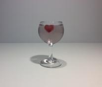 Eiswuerfel Herz